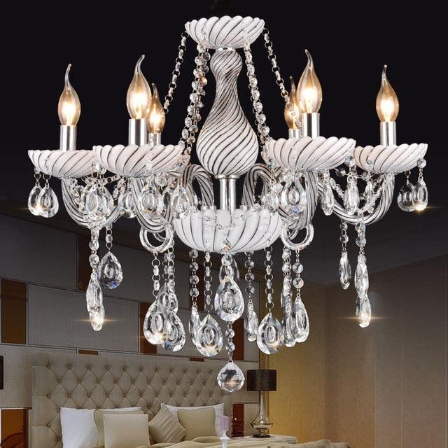 Moderne Einfache Glas Kronleuchter Leuchten Rauchgrau Kristall Kronleuchter  Wohnzimmer Schlafzimmer Küche Restaurant Lichter