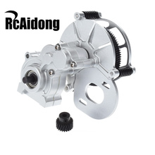 RC Metal Transmission Case Center Gearbox With Gear for 1/10 RC Crawler Car Axial SCX10 D90 D110
