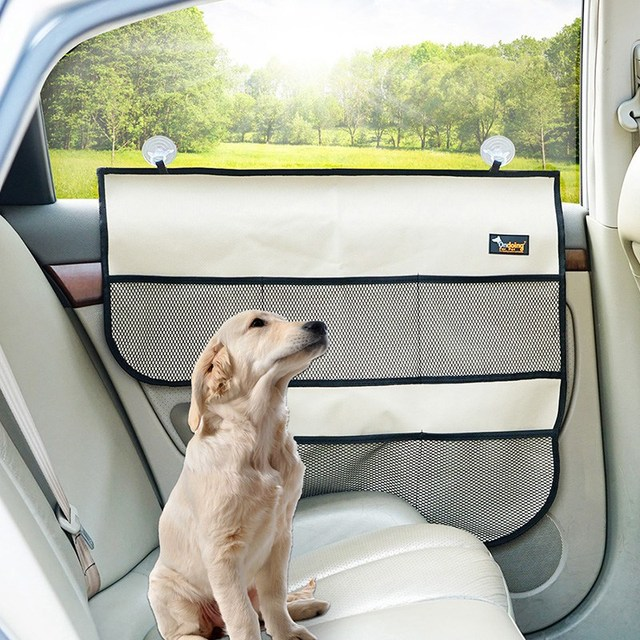 Car Door Windows Protector Pet Mat Seat Side Cover Dog Seat Cover Scratch  Shield Guard Door