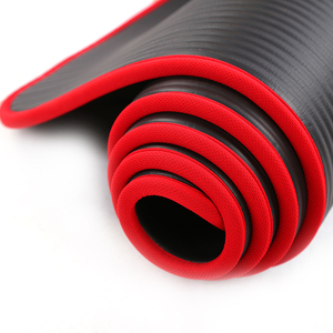 Image 5 - 10 Mm Extra Dikke Hoge Kwaliteit Nrb Antislip Yoga Mats Voor Fitness Milieu Smaakloos Pilates Gym Oefening Pads met Bandage