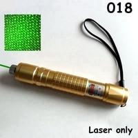 Readstar 018 높은 전원 레코딩 녹색 레이저 포인터 레이저 펜 별이 빛나는 모자 레이저 전용 및 선물 세트 18650 배터리 및 충전기