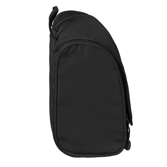 BAGSMART Nylon Cosmetic Bag With Hanger Waterproof Toiletry Bag Portable Makeup Bag Unisex Luggage Travel Bags For Suitcase
