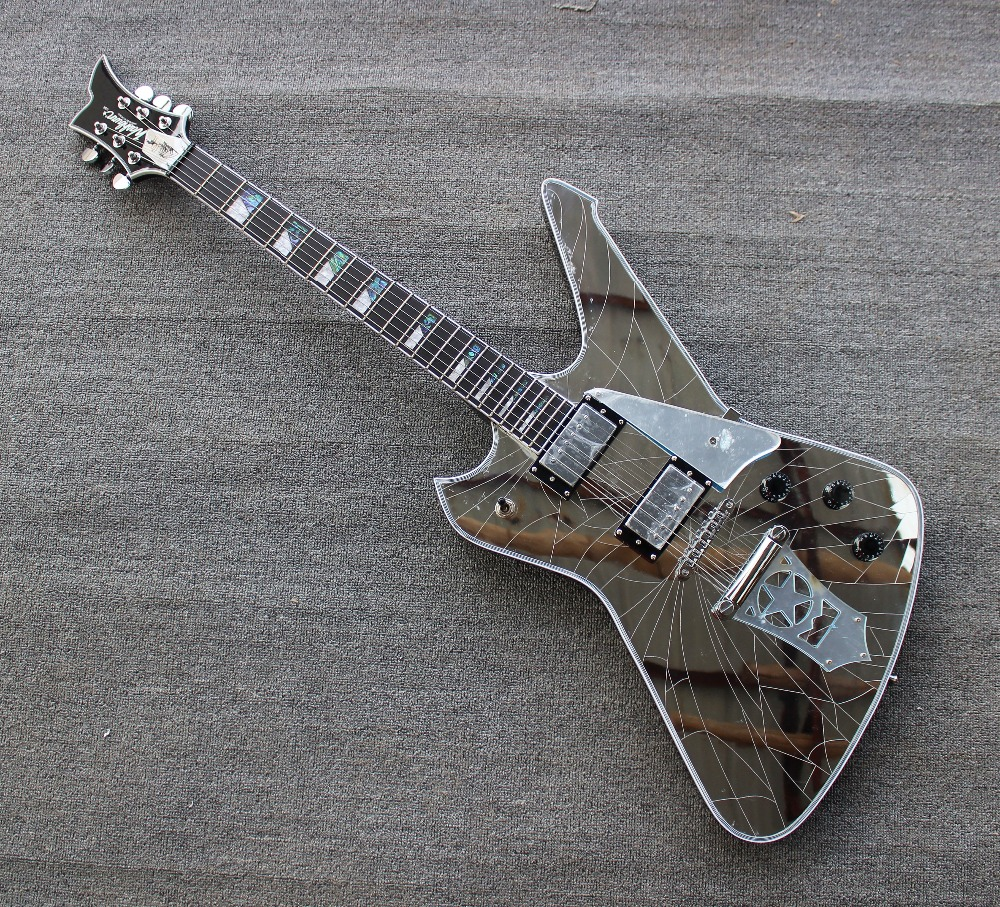 Electric Instrument The Best Solid Body Replica Guitar Korean Hardware Electric Guitar Top Quality Guitarra Electrica Diy Guitar Kit Wxb-015 Non-Ironing Musical Instruments