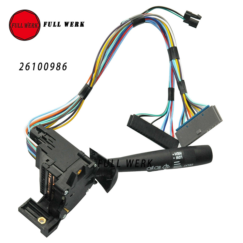 uxcell Windshield Wiper Lever Blinker Turn Signal Switch 26083628 for Chevy Astro Express Pickup Truck