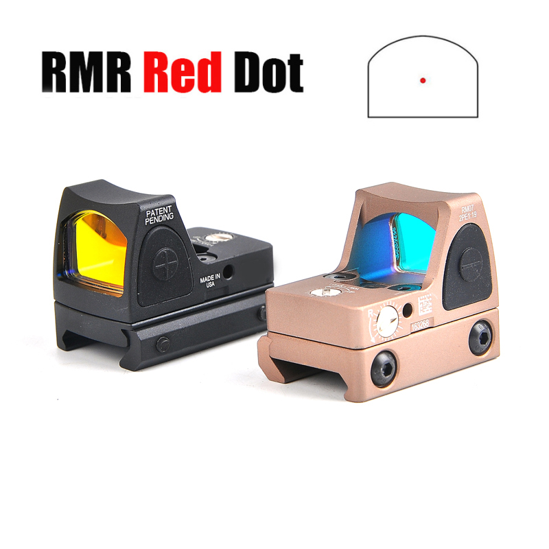 Trijicon RMR Red Dot Rifle Sight Holographic Glock Red Dot Scopes Reflex Scope Collimator Sight Optics