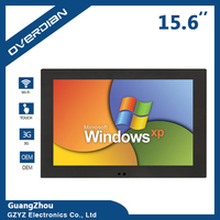 XP System Widescreen LCD Screen 16 9 Industrial Computer Built In WiFi Resistive Touch Screen Industrial