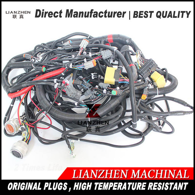 Excavator spare parts PC400 7 new series outer cabin komatsu wiring harness 208 06 71113 2080671113_640x640 excavator spare parts pc400 7 new series outer cabin komatsu cucv cabin wiring harness at gsmx.co