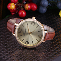 Women Elegant Watch 2016 Fashion Fine Leather Quartz Watch Analog Ladies Cute Dress Watch Casual Wristwatch Relogio Feminino New