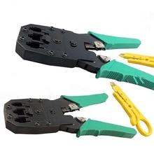 Herramienta que prensa Cable Cutter & Stripper para Conectores RJ45 8P8C 6P6C 4P4C RJ11