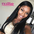 Top Grade Jet Black Brazilian Straight Hair With Closure 3 Bundles Brazillian Hair Weave Bundles With Closure Sexy Formula Hair