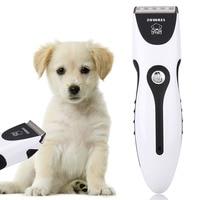 Electronic Pet Hair Clipper Cat Dog Hair Trimmer Grooming Tool EU Plug Dog Haircut Machine Pet