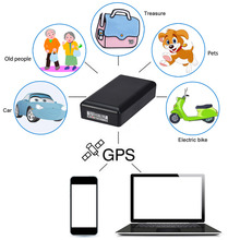 Car GPS Tracker Waterproof 8000mA Locator Vehicle Motorcycle Pet Person 90Days Real Time Tracking Device Motor