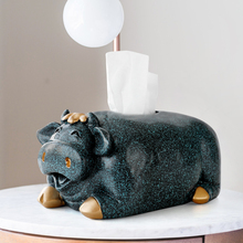 Pig Sculpture art cute tissue box car tissue holder container home decor Table Baby Kitchen tissue holder for dinning table fuers home security wireless wifi smart life safety alert door window alarm sensor detector amazon alexa compatible app control