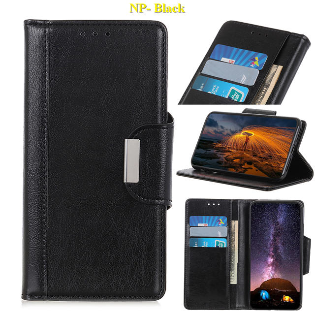Business Magnetic Leather Wallet Case for iPhone 11/11 Pro/11 Pro Max 10