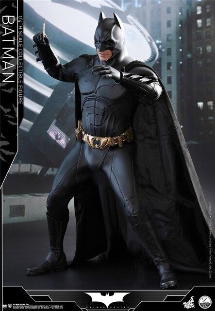 HT 1/4 QS009 Batman sombra rompecabezas misterio campana batalla suave armadura conjunto para figura de acción DIY