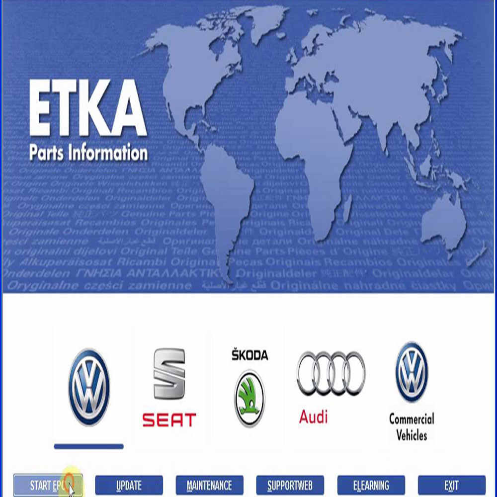 VAG ETKA 8 0 Electronic Parts Catalogue EPC