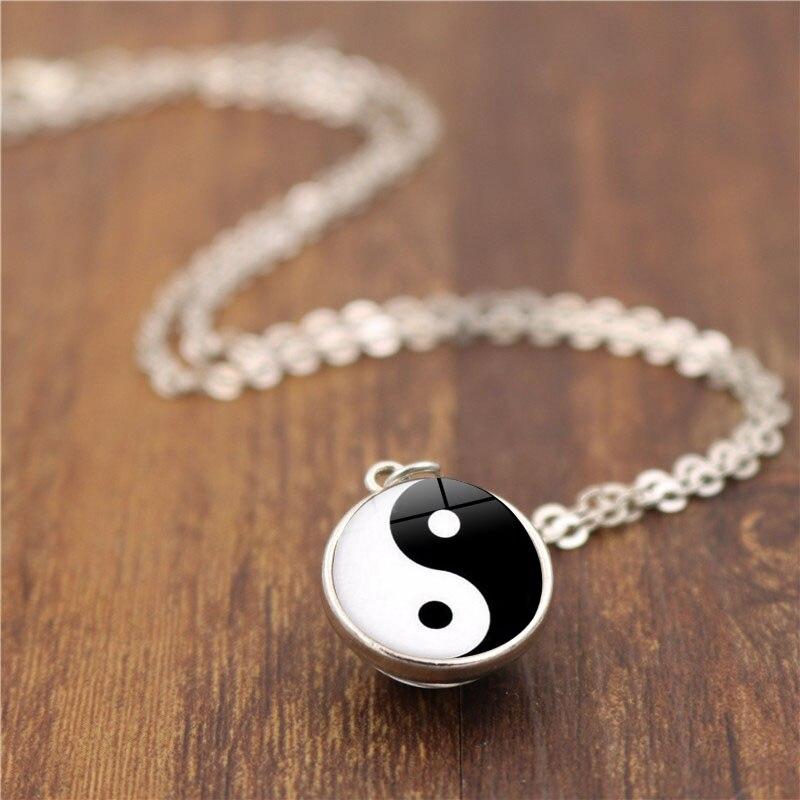 Yin Yang Ball Double Sided Pendant 4