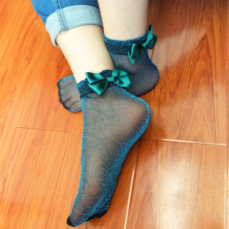 95fb1a65a Japan 2018spring Harajuku New Sexy Butterfly Knot Lady Socks Women Female  Meias Chaussette Femme Calcetines Mujer