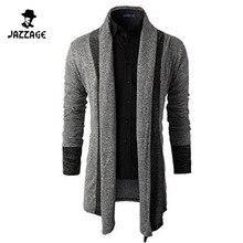 2016 herren Pullover Langarm Strickjacke Männlichen Herbst Gestrickten Pullover Männer Casual Slim Fit Mantel Männer Kleidungswolljacke Männlich XXL