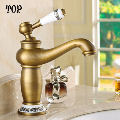 2014 new brass Antique bronze faucet bathroom sink faucet china ...
