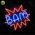 Неоновые световые вывески для Bam взрывные неоновые лампы вывеска лампы стеклянные ручной работы бар окно дисплей неоновый Letrero Neons enseigne lumine