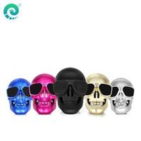 Skull Shape Wireless Bluetooth Column Speaker Sunglass Skull Speaker Support NFC Loudspeaker Music Box For Samsung Xiaomi Huawei