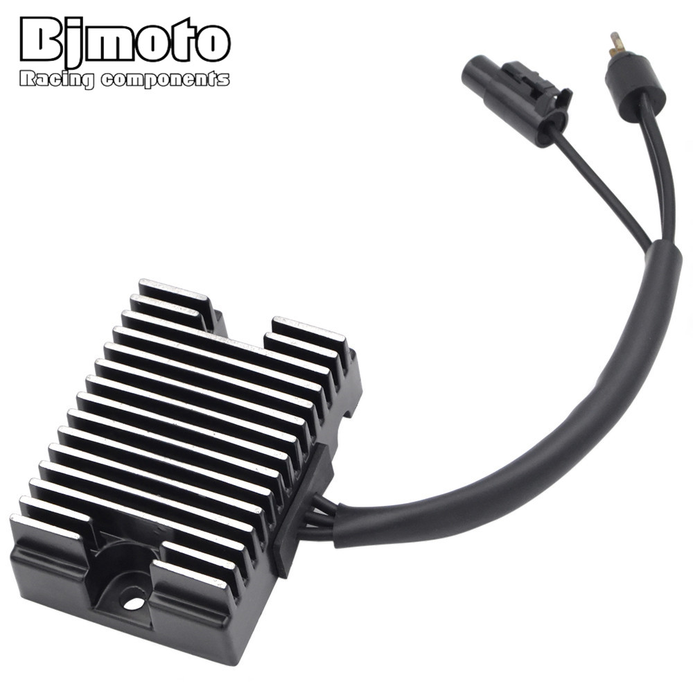 BJMOTO Motorcycle Regulator Voltage Rectifier For Harley 1994-2003 Sportster 883 1200 XL XLH 883 1200 74523-94A new motorcycle chrome skull brake clutch lever handle for harley xl sportster 883 1200 1996 2003