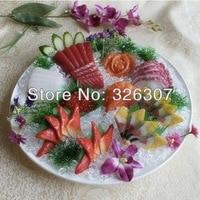 Искусственная имитационная модель Японская еда сашими Отель Пластиковая форма