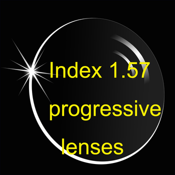 Progressive Lense No-Line Bifocal Index 1.56 Anti-Reflective And Anti-Scratch/  Prescription Lens / Multi-Focus