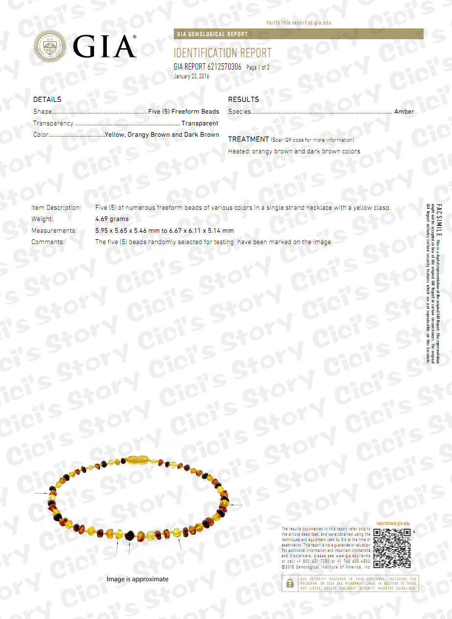 Raw Baltic Amber Kinderkrankheiten Halskette / Armband für Baby - Edlen Schmuck - Foto 6