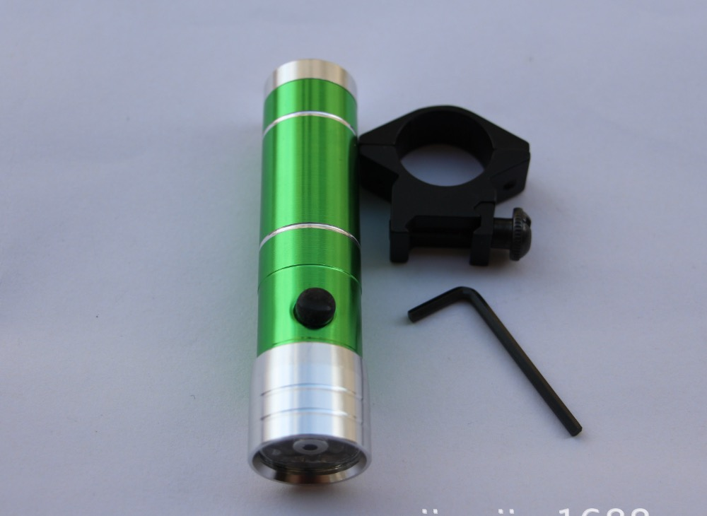 1 PCS Infrared Flashlight Clip Hunting Fishing Gear Shooting Laser Without Battery Slingshot Light
