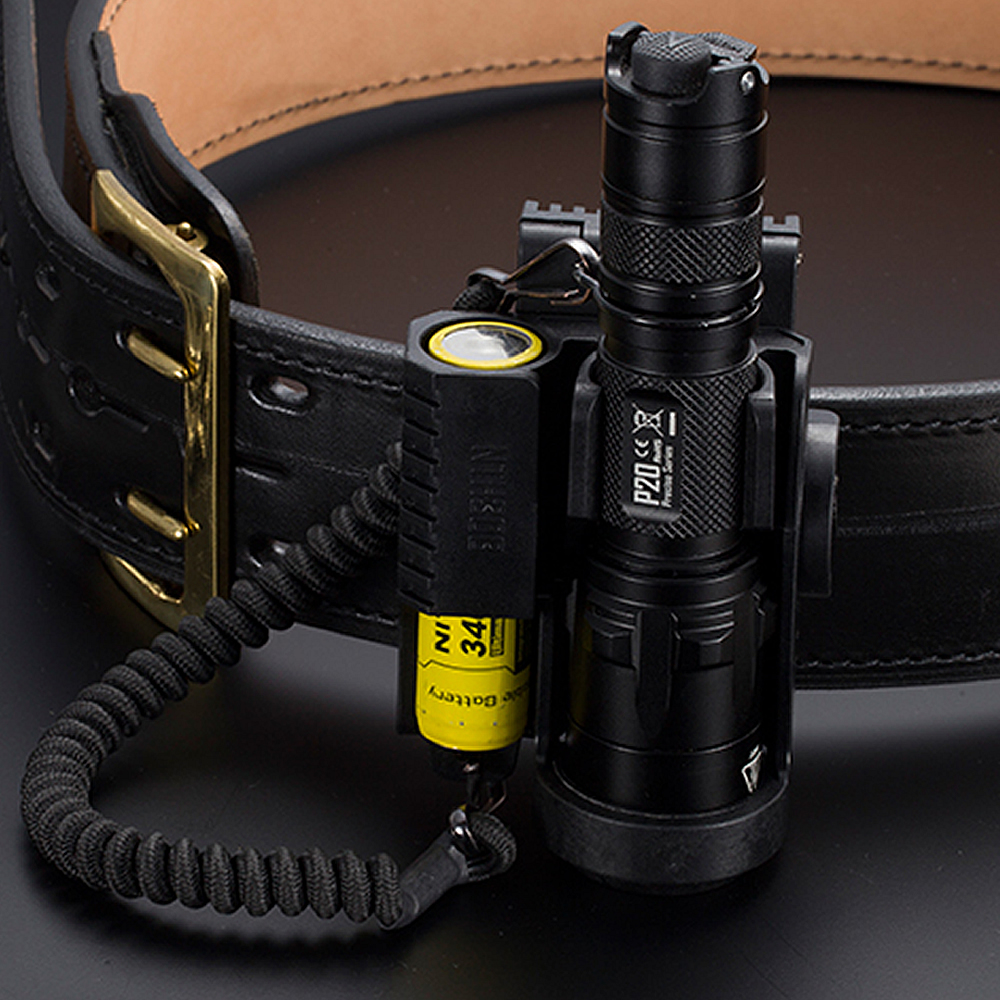 2020 NITECORE Mount Holder NTH30B Duty Belt Hunting Professional Lamp Accessories Holster For Flashlight P20 / P20UV And Battery