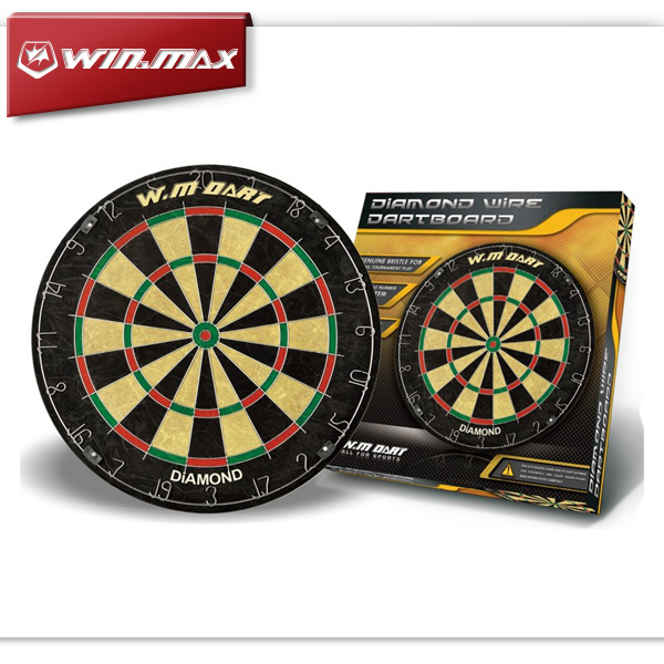 2016 Winmax Indoor Game 18 Inch Professional Advanced Bristle Dartboard with a Set Steel Tip Darts 18 inch professional electronic dart board set with 6pcs darts soft tip dartboard for indoor game english voice scorer