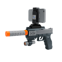 3D Augmented Reality AR GUN For VR Games Wooden Material Toy Gun Game DIY Suit For