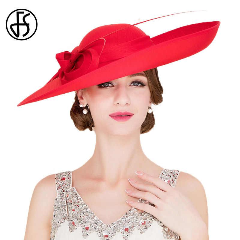 Womens Floppy Organza Wide Brim Fascinator Bowler Hat Church Beach Kentucky Derby Tea Party Hat Dress Sun Hat