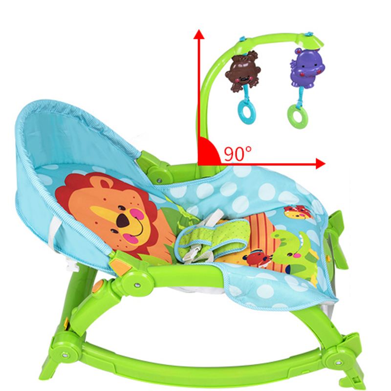 piękne dziecko elektryczne bujane krzesło 2016 najnowsze dziecko - Aktywność i sprzęt dla dzieci - Zdjęcie 3
