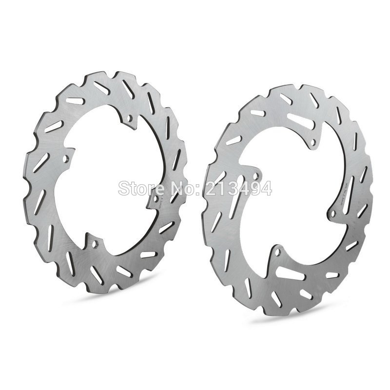 New front and rear brake disc rotors fits for ktm 85 sx sx85 2011 2012 2013 2014