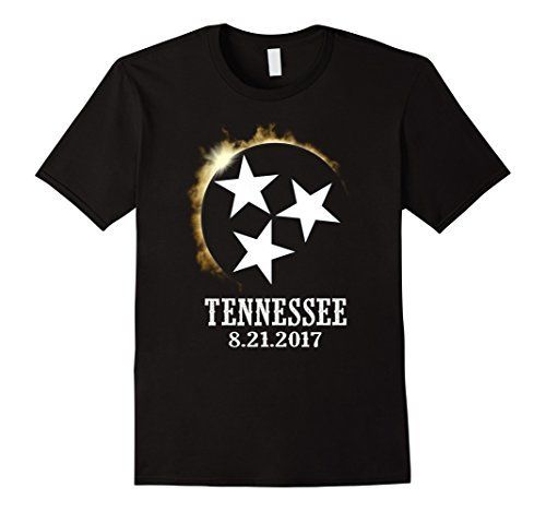 2017 Tennessee Eclipse Viewing Tee Shirt Flag I Was There Cotton T-Shirt Fashion T Shirt Free Shipping
