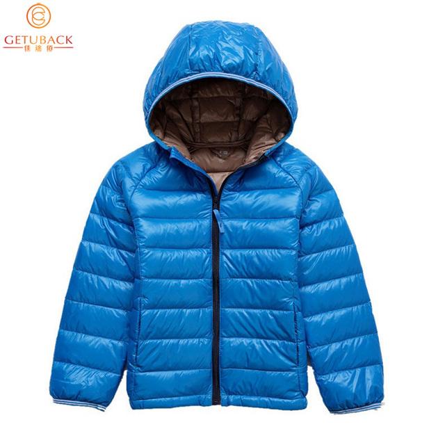 2016 Boys & Girls Jaquetas para o Inverno Da Marca Crianças Pato Branco Para Baixo Casacos Crianças Casacos Quentes À Prova de Frio térmica, HC515