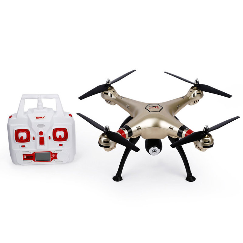 Syma X8HC Drone with Professional Camera 2MP HD Camera 2.4G 4CH 6-Axis Gyro RC Quadcopter Drone UAV RTF UFO New RC Helicopter jjrc h12c 6 axis headless mode 2 4g 4ch rc quadcopter 360 degree rollover ufo helicopter professional drone dron 5 0mp hd camera