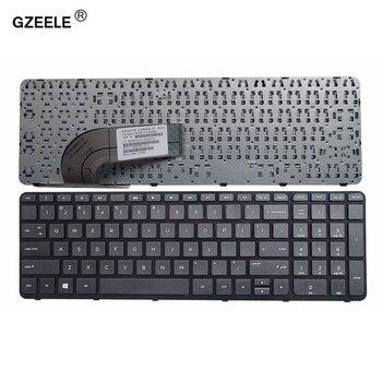 GZEELE angielski klawiatury laptopa klawiatura do HP pavilion 15-N 15-E 15E 15N 15 T 15t-N 15-N000 15-N100 15-N200 15-E000 15-E100 15-e016tx z nami