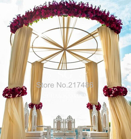 No Flower And The Curtain Including )hot Sale Good Quality Popular Cheap  Gazebo Of Wedding