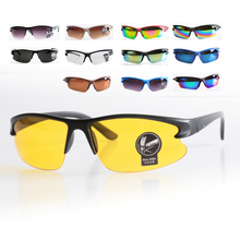 New Cycling Eyewear Sunglasses UV400 Safety Unisex Goggle Sunglasses B