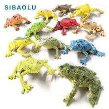 купить 12Pcs Kawaii mini Frogs fairy garden gnome moss terrarium home decor crafts bonsai bottle Diy resin miniatures animals statue дешево