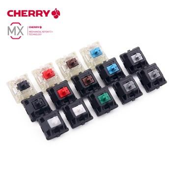 Oryginalny CHERRY MX RGB cichy przełącznik 3 pin klawiatura mechaniczna czarny czerwony bworn niebieski jasny biały zielony liniowy szary przełączniki tanie i dobre opinie CHERRY MX SILENT SWITCH 60 days Z tworzywa sztucznego Mikroprzełącznik Cherry MX RGB Silent switch