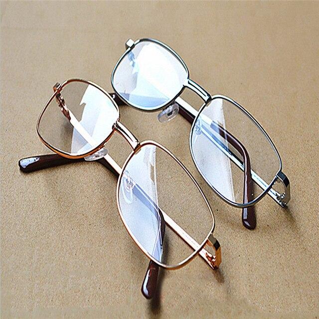 Men Women Resin lenses Presbyopic Reading Glasses Metal Frame gafas Oculos lunettes 1.0 1.5 2.0 2.5 to 4.0 020