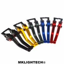 MKLIGHTECH FOR TRIUMPH 675 STREET TRIPLE 2008-2015 DAYTONA 955i 2004-2006 Motorcycle Accessories CNC Short Brake Clutch Levers цены
