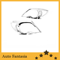 Auto chromteile chrom scheinwerfer abdeckung für toyota hilux 05 bis 09- versandkostenfrei