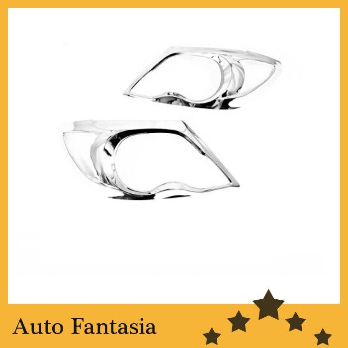 ᗗLas piezas auto cubierta ligera principal del cromo para Toyota ...