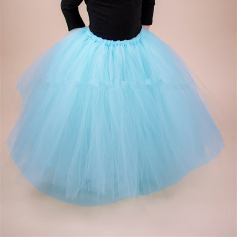 7b5f8c3694 17 colores chicas tutú Falda larga mullida tul niñas faldas tutú ...